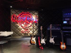 ハードロックカフェ大阪ステージ
