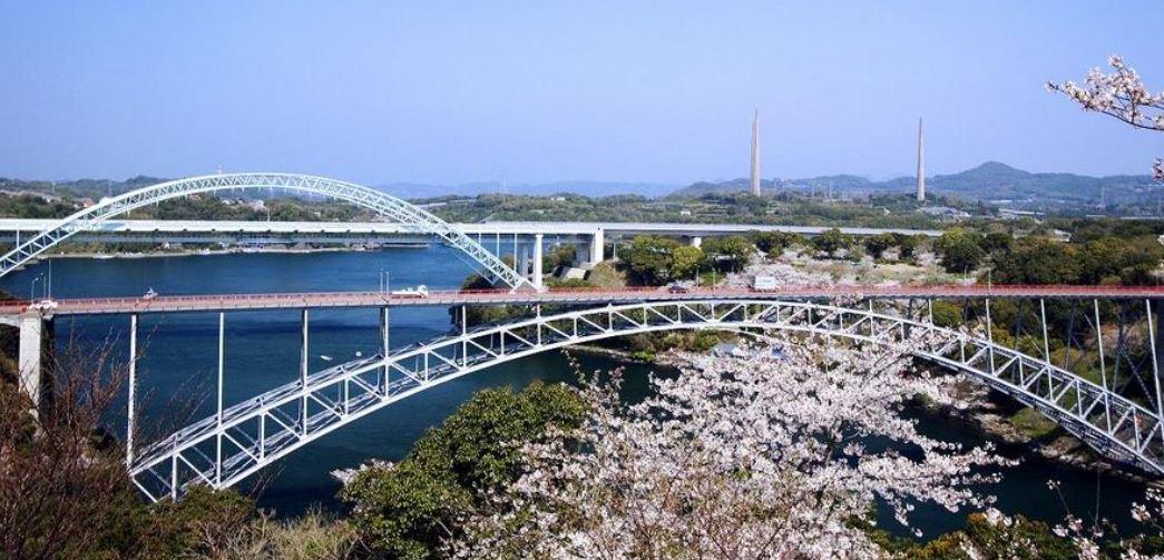トラス構造西海橋