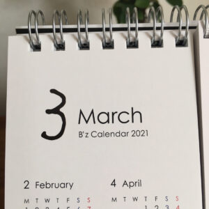 B'z卓上カレンダー3月松本さん