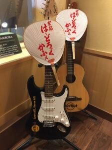 ハードロックカフェ京都ギター