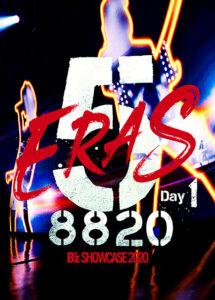 B'z SHOWCASE 2020 -5 ERAS DVD Day1