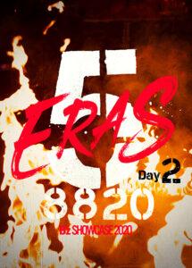 B'z SHOWCASE 2020 -5 ERAS DVD Day2