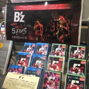 B'z 5erasタワーレコード神戸店